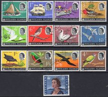 Pitcairn QEII 1964 Definitives Set Of 13, Used, SG 36/48 - Stamps