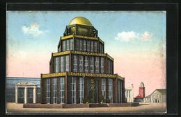 AK Leipzig, Intern. Baufachausstellung Mit Sonderausstellung 1913, Pavillon Des Stahlwerksverbands - Expositions