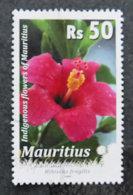 ILE MAURICE - MAURITIUS - 2008 - YT 1104 - SERIE COURANTE FLEURS - Mauritius (1968-...)