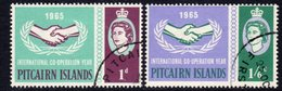 Pitcairn QEII 1965 ICY Set Of 2, Used, SG 51/2 - Stamps