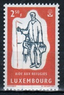 Luxembourg 1960 Single 2f 50 Commemorative Stamp Celebrating World Refugee Year. - Luxembourg