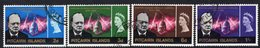 Pitcairn QEII 1966 Churchill Commemoration Set Of 4, Used, SG 53/6 - Stamps