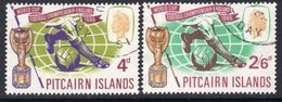 Pitcairn QEII 1966 Football World Cup Set Of 2, Used, SG 57/8 - Stamps
