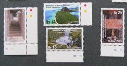 ILE MAURICE - MAURITIUS - 2010 - YT 1126 à 1129 ** - PATRIMOINE MONDIAL - Mauritius (1968-...)