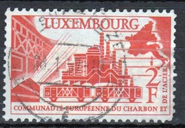 Luxembourg 1956 Single 2f Commemorative Stamp Celebrating Coal And Steel Community. - Luxembourg