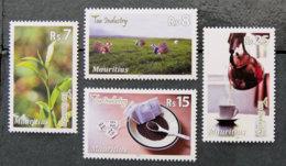 ILE MAURICE - MAURITIUS - 2011 - YT 1139 à 1142  ** - INDUSTRIE DU THE - Mauritius (1968-...)