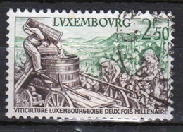 Luxembourg 1958 Single 2f 50 Commemorative Stamp Celebrating Wine Industry. - Luxembourg