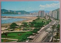 SANTOS, SP, Brasil - Av. Presidente Wilson - Praia José Menino   Vg - Brasile