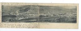 Panorama De Martelange ( Carte Double 1900 ) - Martelange