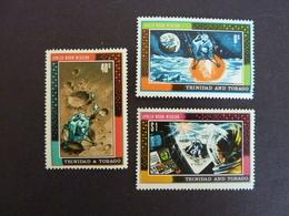 TRINITE Et TOBAGO, Année 1969, YT N° 253-254-255 Neufs MH* - Trinité & Tobago (1962-...)