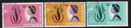 Pitcairn QEII 1968 Human Rights Year Set Of 3, Used, SG 85/7 - Stamps
