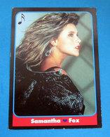 SAMANTHA FOX LE BELLISSIME MUSICA MASTER CARDS 1993 - Cinema & TV