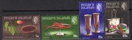 Pitcairn QEII 1968 Handicrafts I Set Of 4, Used, SG 88/91 - Stamps