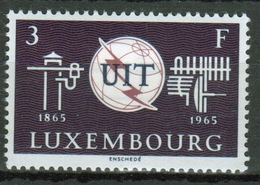 Luxembourg 1965 Single 3f Commemorative Stamp Celebrating Centenary Of ITU. - Luxembourg