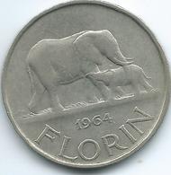 Malawi - 1964 - 1 Florin - KM3 - Malawi