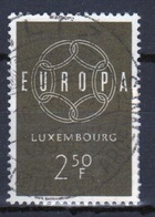 Luxembourg 1959 Single 2f 50 Commemorative Stamp Celebrating Europa. - Luxembourg