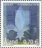 Ref. 201166 * NEW *  - ALAND . 2007. EUROPA CEPT. 100 YEARS OF SCOUTING. EUROPA CEPT. 100 A�OS DE ESCULTISMO - Aland