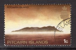 Pitcairn QEII 1969-75 Definitives 1c Glazed Paper Value, Used, SG 94a - Stamps