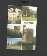 Multi View Postcard Historic Norwich Unposted - Norwich