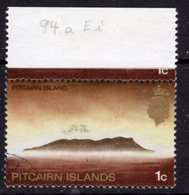 Pitcairn QEII 1969-75 Definitives 1c Value, Wmk Crown To Right Of CA, MNH, SG 94aw - Stamps