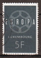 Luxembourg 1959 Single 5f Commemorative Stamp Celebrating Europa. - Luxembourg