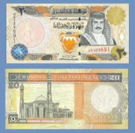 BAHRAIN 20 DINARS 2001 - Bahrain