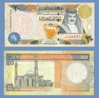 BAHRAIN 20 DINARS 2001 - Bahreïn