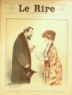 "REVUE ""LE RIRE""-1909-356-Dessin GENTY HEMARD POURIOL ESQUIUS GUILLAUME,DELAW - Books, Magazines, Comics"