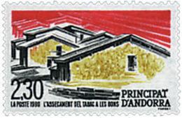 Ref. 46100 * NEW *  - ANDORRA. French Adm. . 1990. TOBACCO DRYING AT LES BONS. SECADO DEL TABACO EN LES BONS - Französisch Andorra