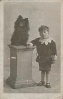 PC68962 Old Postcard. A Boy And A Dog. U. S. A - Cartes Postales