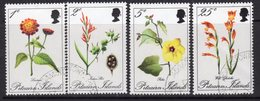 Pitcairn QEII 1970 Flowers Set Of 4, Used, SG 107/10 - Stamps