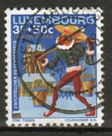 Luxembourg 1965 Single 3f 50 Commemorative Stamp Celebrating Fairy Tales. - Luxembourg