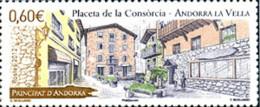 Ref. 284091 * NEW *  - ANDORRA. French Adm. . 2012. PLA�A DE LA CONCORDIA - Frans-Andorra