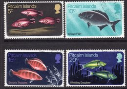 Pitcairn QEII 1970 Fish Set Of 4, Wmk. Upright, Used, SG 111/4 - Stamps