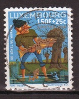 Luxembourg 1966 Single 1f 50 Commemorative Stamp Celebrating Fairy Tales. - Luxembourg