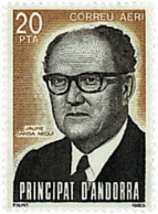 Ref. 46165 * NEW *  - ANDORRA. Spanish Adm. . 1983. JAUME SANSA NEQUI. JAUME SANSA NEQUI - Andorre Espagnol