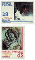 Ref. 62839 * NEW *  - ANDORRA. Spanish Adm. . 1993. EUROPA CEPT. CONTEMPORARY ART. EUROPA CEPT. ARTE CONTEMPORANEO - Andorra Española
