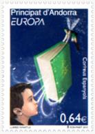 Ref. 247628 * NEW *  - ANDORRA. Spanish Adm. . 2010. EUROPA CEPT. CHILDREN'S BOOKS . EUROPA CEPT 2010 - LIBROS INFANTILE - Unused Stamps