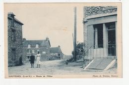 LOUTEHEL - ROUTE DE PLELAN - 35 - France