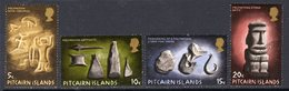 Pitcairn QEII 1971 Polynesian Pitcairn Set Of 4, Wmk. Normal, Used, SG 116/9 - Stamps