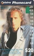 TARJETA TELEFONICA DE AUSTRALIA. MUSICA. Sony-Michael Bolton. AUS-AMA-082. (114) - Música