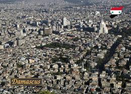Syria Damascus Aerial View New Postcard Syrien Damaskus AK - Syrien