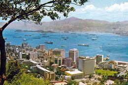 1 AK Hongkong * A Bird-eye View To The Central District Of Victoria Hong Kong – Luftbildaufnahme * - China (Hongkong)