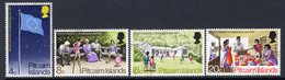 Pitcairn QEII 1972 South Pacific Commission Set Of 4, Used, SG 120/3 - Pitcairn Islands