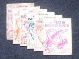 LA PECHE INDEPENDANTE Revue Mensuelle Lot 6 Différents: 01- 1935 / 12-1936 / 03, 04, 06 Et 07-1937 - Défense De La Pêche - Books, Magazines, Comics