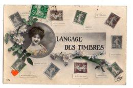 34280-LE-LANGAGE DES TIMBRES--------------multivues - Timbres (représentations)