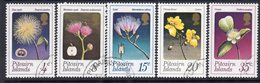 Pitcairn QEII 1973 Flowers Set Of 5, Used, SG 126/30 - Stamps