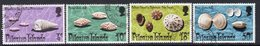 Pitcairn QEII 1974 Shells Set Of 4, Used, SG 147/50 - Stamps
