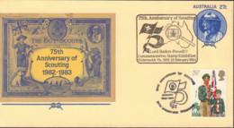 Ref. 489438 * NEW *  - AUSTRALIA . 1983. 75th ANNIVERSARY OF THE SCOUTS. 75 ANIVERSARIO DEL ESCULTISMO - 1980-89 Elizabeth II