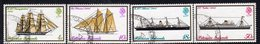 Pitcairn QEII 1975 Mailboats Set Of 4, Used, SG 157/60 - Stamps